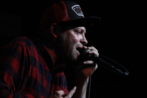 Fortunate Youth lead singer Dan Kelly performed the band's song