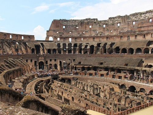 The Colosseum in Rome is one of the many places students can visit while studying abroad. (Photo courtesy of Ashley Nanfria)