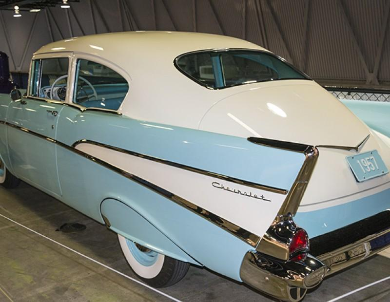 1957 Chevrolet Concept Car on display at Sacramento's Autorama on Feb.12, 2016. The car show was held at Cal Expo. (Photo by Joe Padilla)