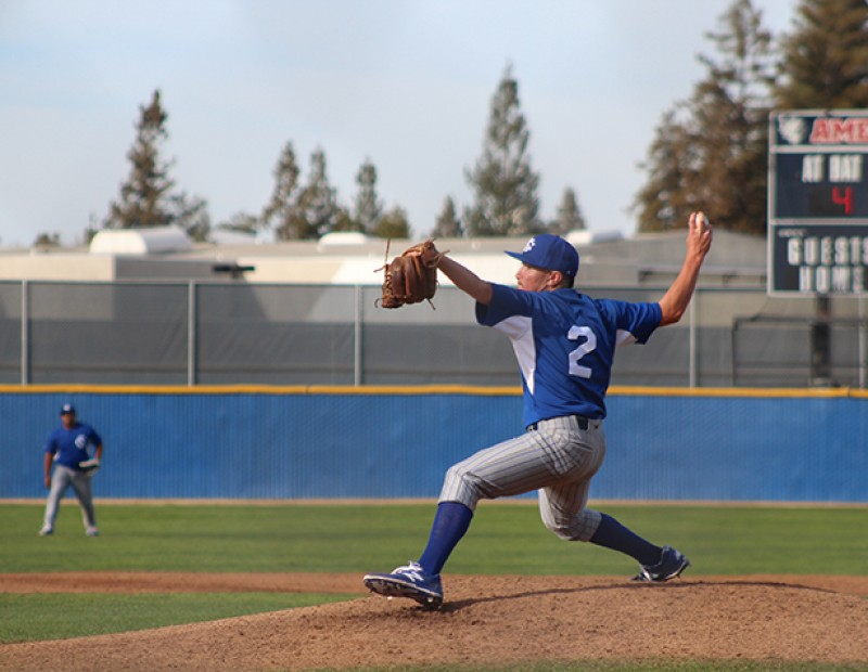 Solano P David Hostler throws a pitch against ARC on Tuesday. ARC lost 6-5. (Photo by Mack Ervin III)