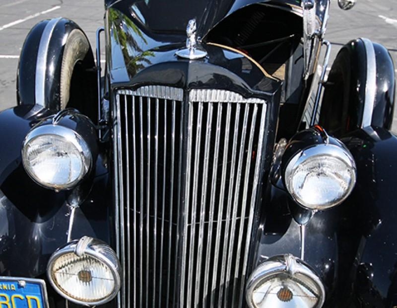 A 1936 Packard 120 Club Sedan that was on sale at the 56th annual Northern California Regional Group Horseless Carriage Club of America swap meet held at American River College on April 24, 2016. The swap meet ranged from items priced at five dollars to a $68,500 Corvette C2. (Photo by Matthew Nobert)