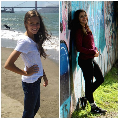 Cannessa Lewis is an American River College student who writes a blog documenting her struggles with both obsessive-compulsive disorder and anorexia. (Left, photo courtesy of: Trena Lewis Right, photo courtesy of: Trent Carey)