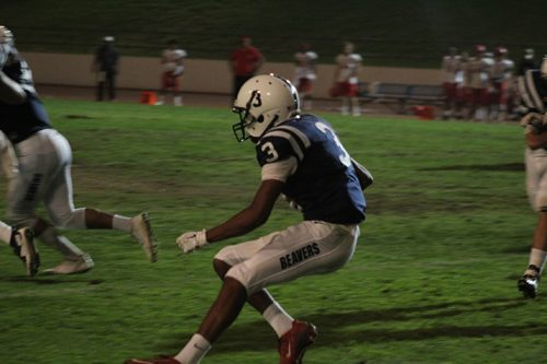 American River College wide receiver Damen Wheeler Jr. returns a kickoff 97 yards for a touchdown during a game against City College of San Fransisco on Sept. 17 at ARC. ARC Lost 51-36. (Photo by Mack Ervin III)