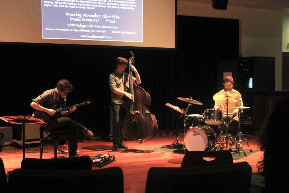 San+Diego+based+band%2C+Neu+Jazz+Trio+was+invited+to+a+Jazz+Clinic+at+ARC+to+share+with+students+about+the+music+world%2C+Monday+Nov.+7.+%0A%28photo+by+Lidiya+Grib%29