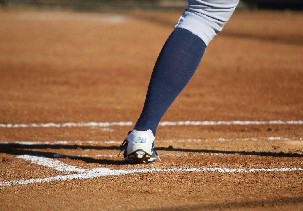 ARC softball player on the field. (photo gallery by Lidiya Grib)
