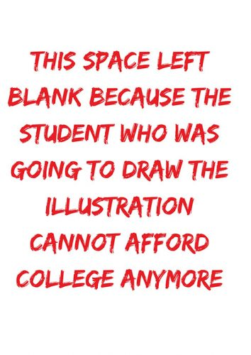 Make education expensive, again?