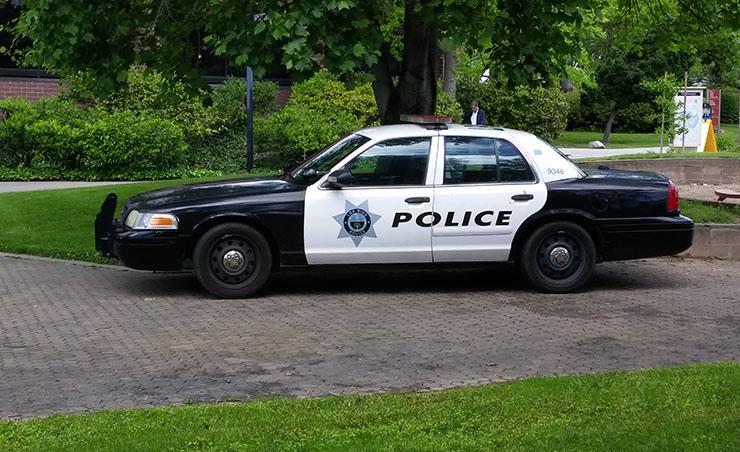 Los Rios Police Department patrol car. (Photo by John Ennis)