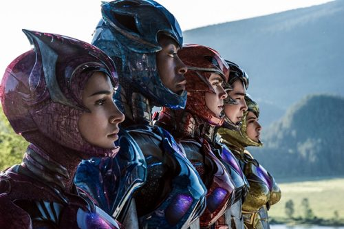 The new Power Rangers movie out in theaters. (Photo courtesy of Lionsgate)