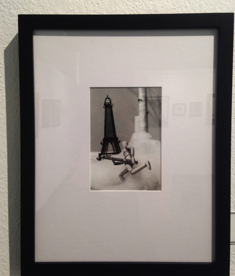 """Eiffel"", made out of silver gelatin by Rachel Sanders. (photo by Lidiya Grib)"