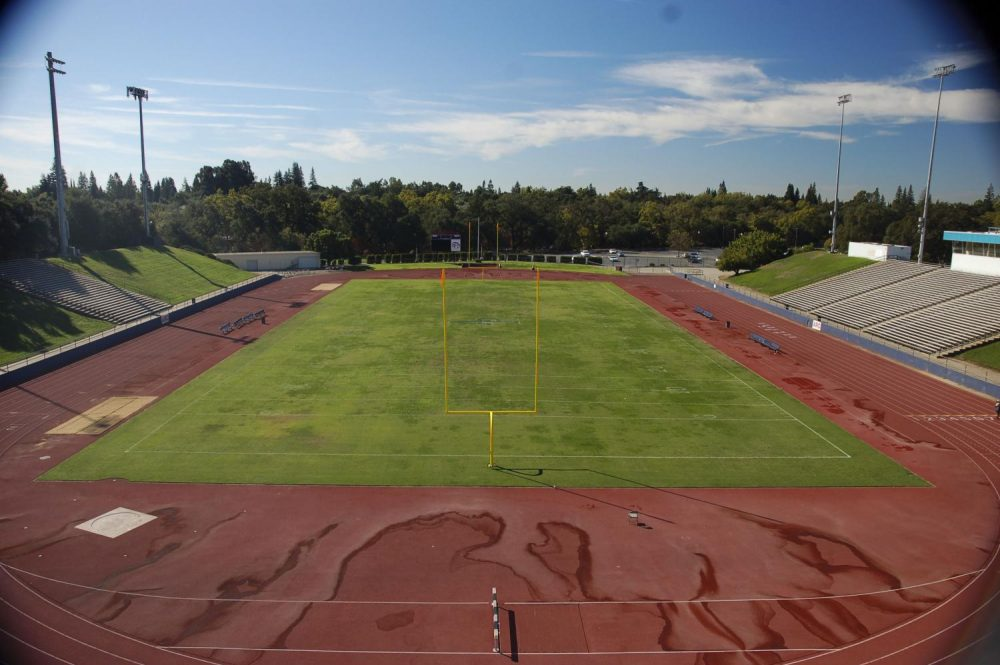 The Beaver Stadium at American River College in Sacramento, California. (photo by Brienna Edwards)