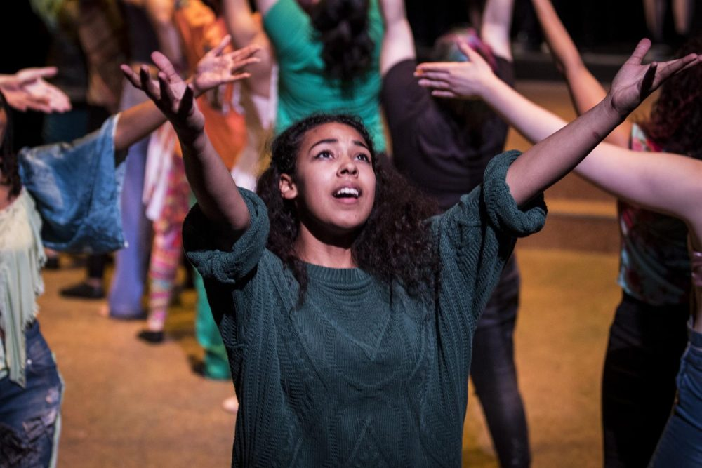 Alexandria Wilson performs in the American River College's production of