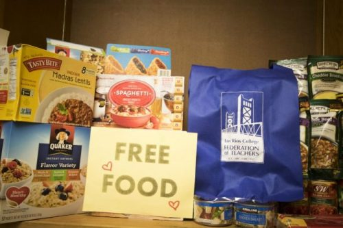ARC will be hosting the first of four on campus Food Pantry's this semester on Feb. 21. (Photo by Ashley Hayes-Stone)