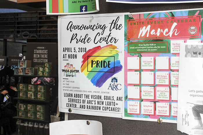 The American River Pride Center will open at 12 p.m. on April 5, 2018. (Photo by Jennah Booth)