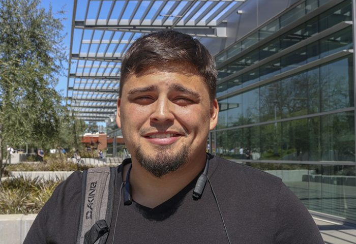 """I was actually debating skipping earlier, but as long as I go to Starbucks I go to class."" – Rob Villarreal 