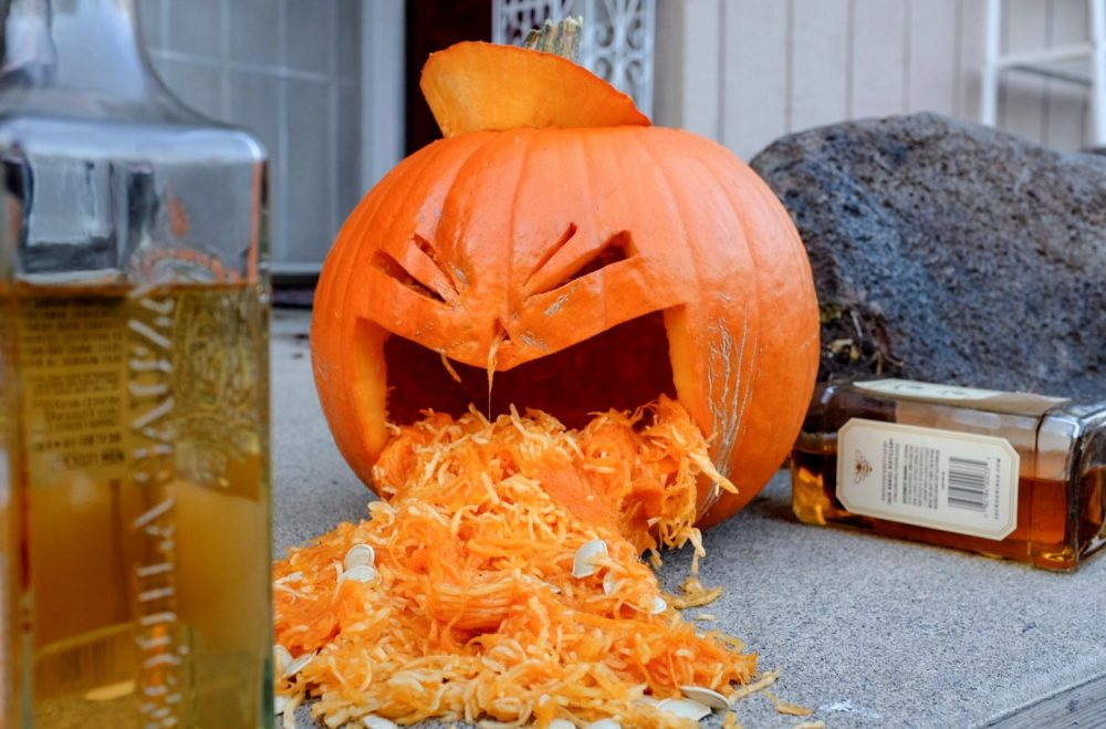 Halloween is considered to be one of the heavier binge-drinking holidays, especially for college students. Students take precaution by planning out their night and knowing their drinking limit. (Photo illustration by Patrick Hyun Wilson)