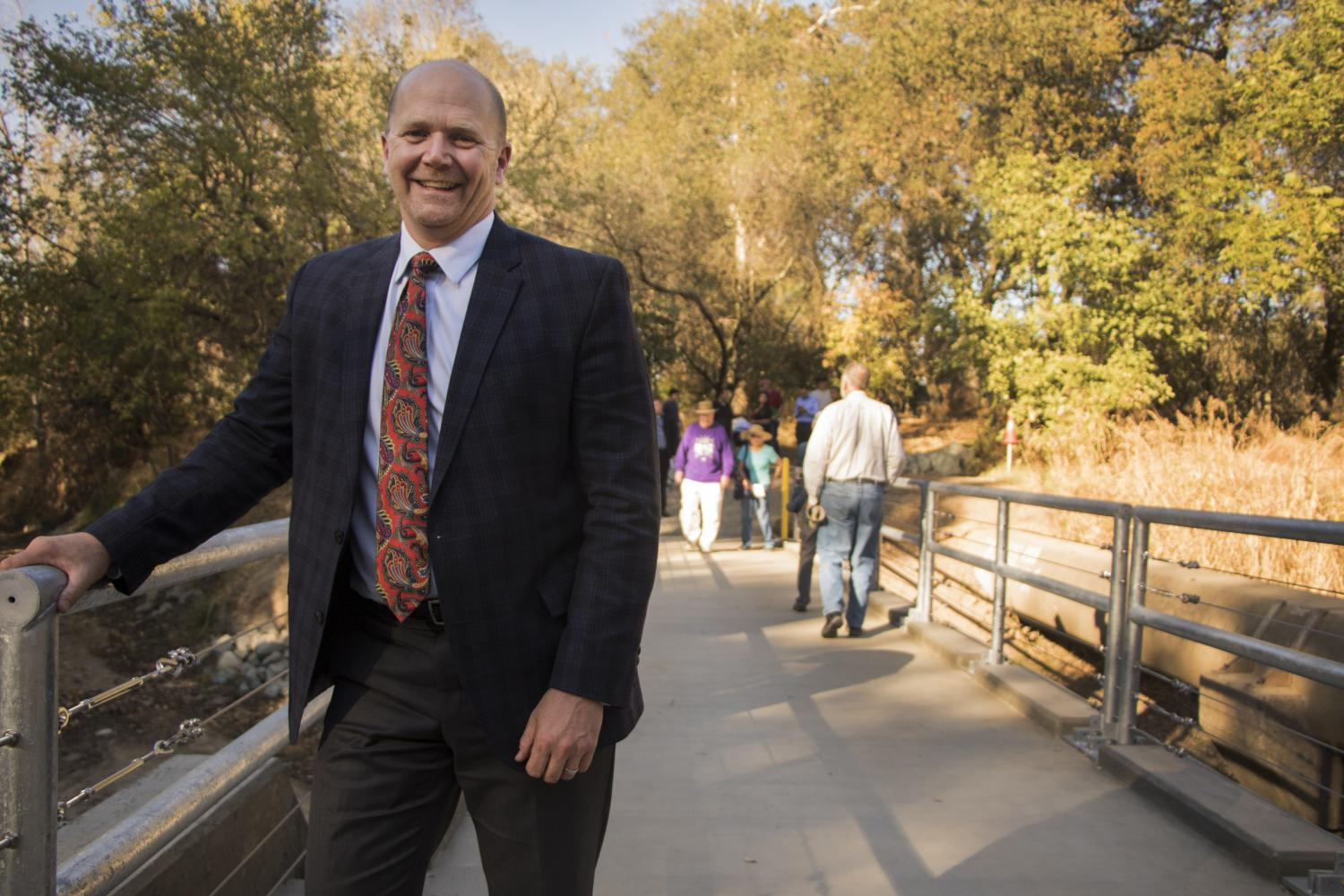 American River College president Thomas Greene will retire in June 2020, after almost six years in the position. (File Photo)