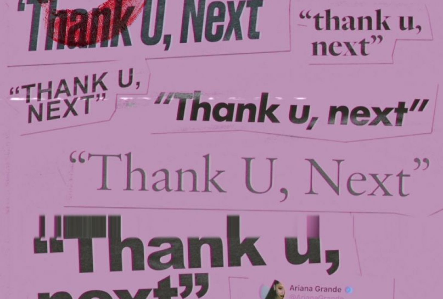 """Read Alexis Warren's review of """"thank u, next"""" on the American River Current Arts & Culture tab. """"thank u, next"""" single cover art (Photo courtesy of Republic Records)"""