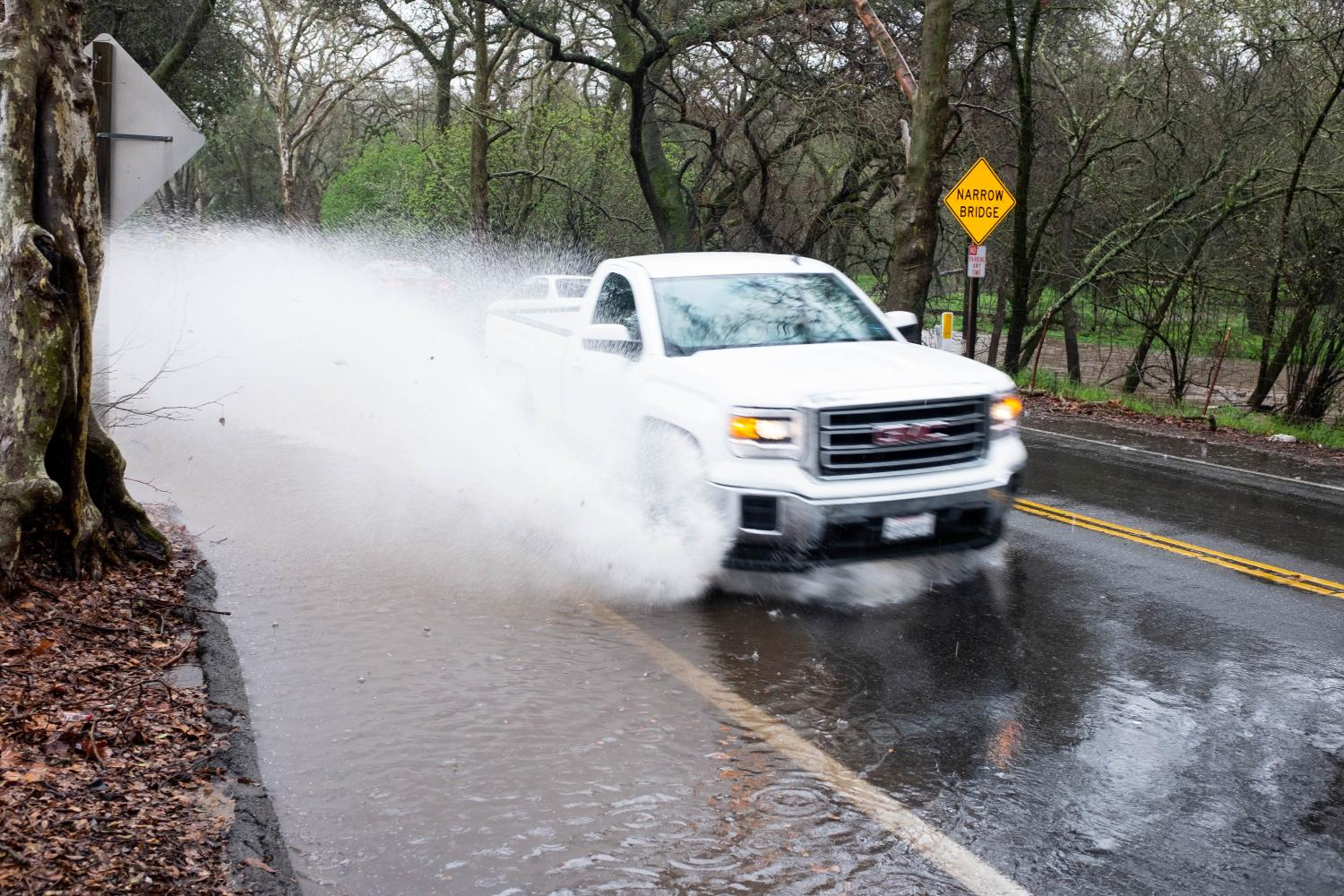 ARC monitors creek levels for flooding   The American River