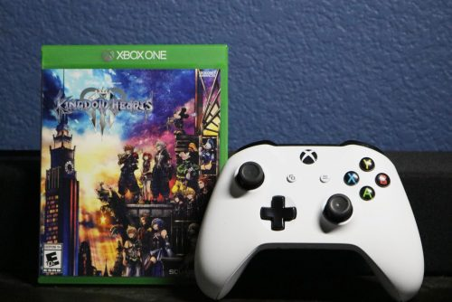 """Kingdom Hearts III"" is the first game of the series released for the Xbox One console. (Photo illustration by Thomas Cathey)"