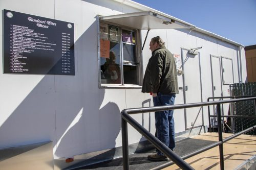 Due to American River College students wanting more diverse food on campus, the Peet's Coffee location in the Portable Village closed last Thursday and Indian Catering and Events opened in its place on Feb. 19, 2019. (Photo by Ashley Hayes-Stone)
