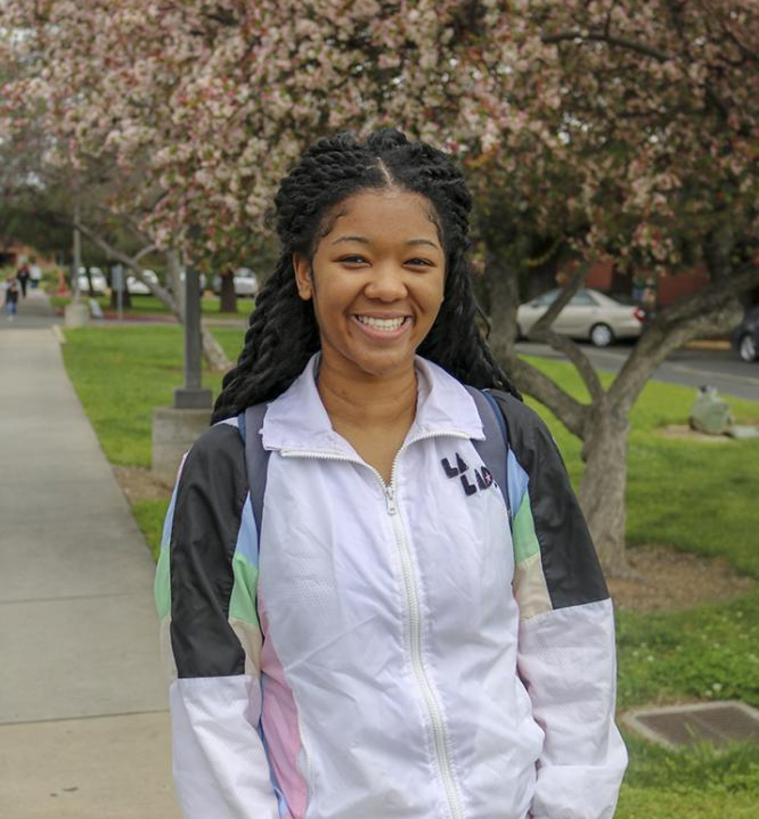 """I love that we have power, strength and that we can come together and unite."" – Khalila Duran 