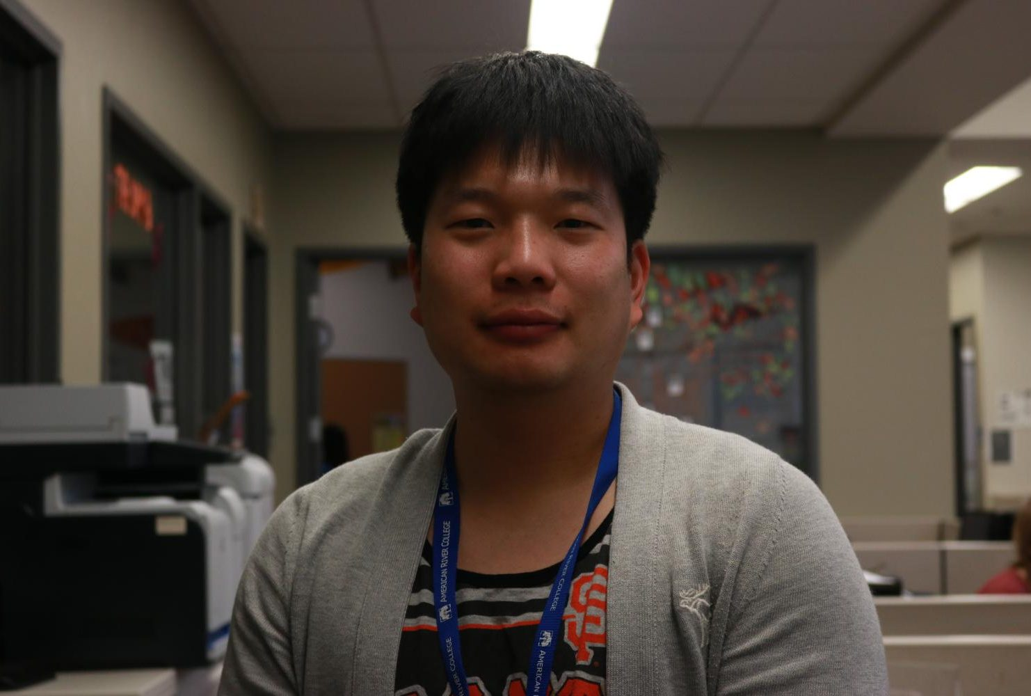 """""""I would like to see in the Current about the changes in the Hub and the activities and workshops that happens here every week."""" – Kevin Kim 