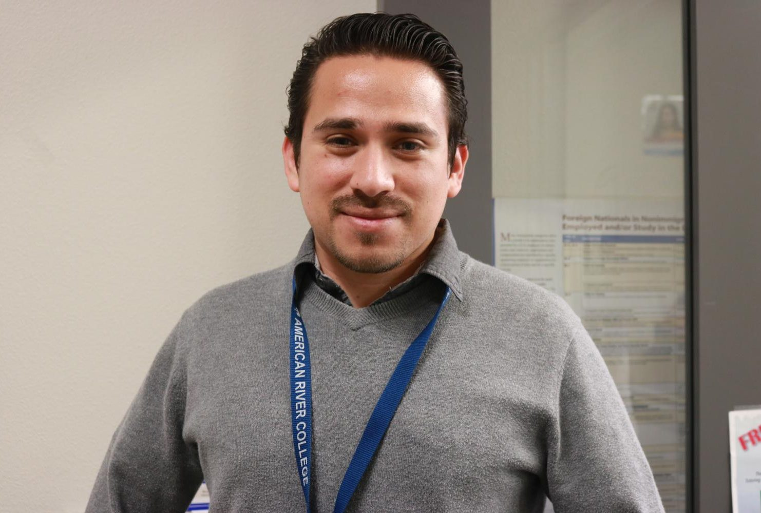 """""""I would like to read more about the universities that students at ARC can transfer, not only UC Davis or Sac State, so the students can have more options."""" – Geovanny Godoy 
