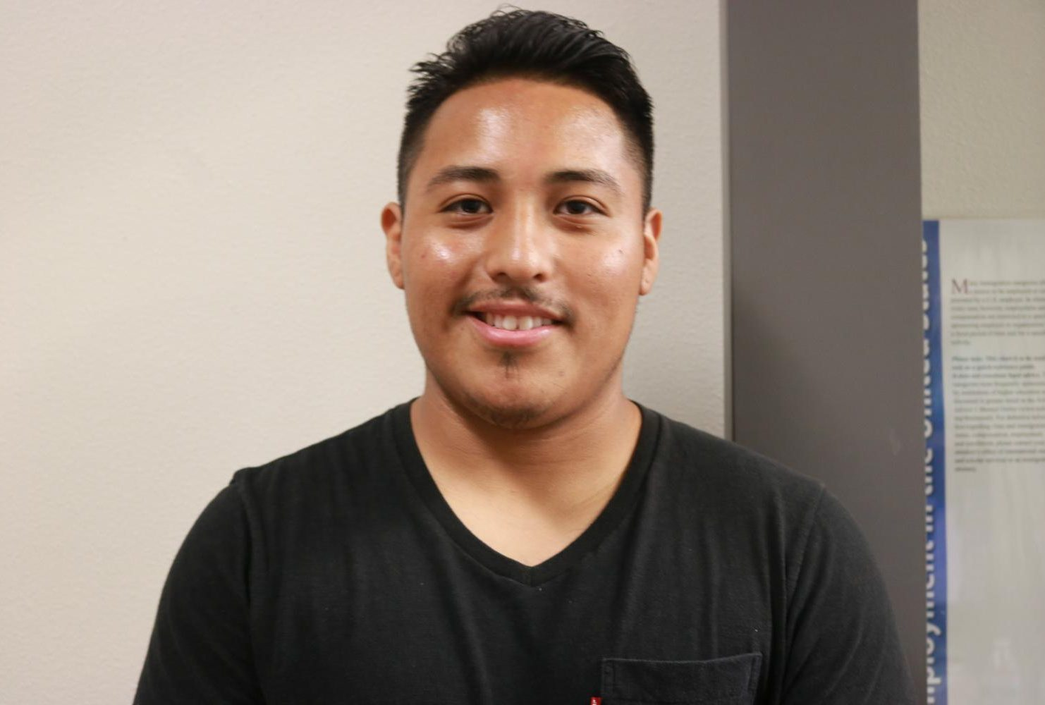 """""""I want to see more about the clubs and activities around campus and also things that could be more helpful for students."""" – Rameses Galvez 