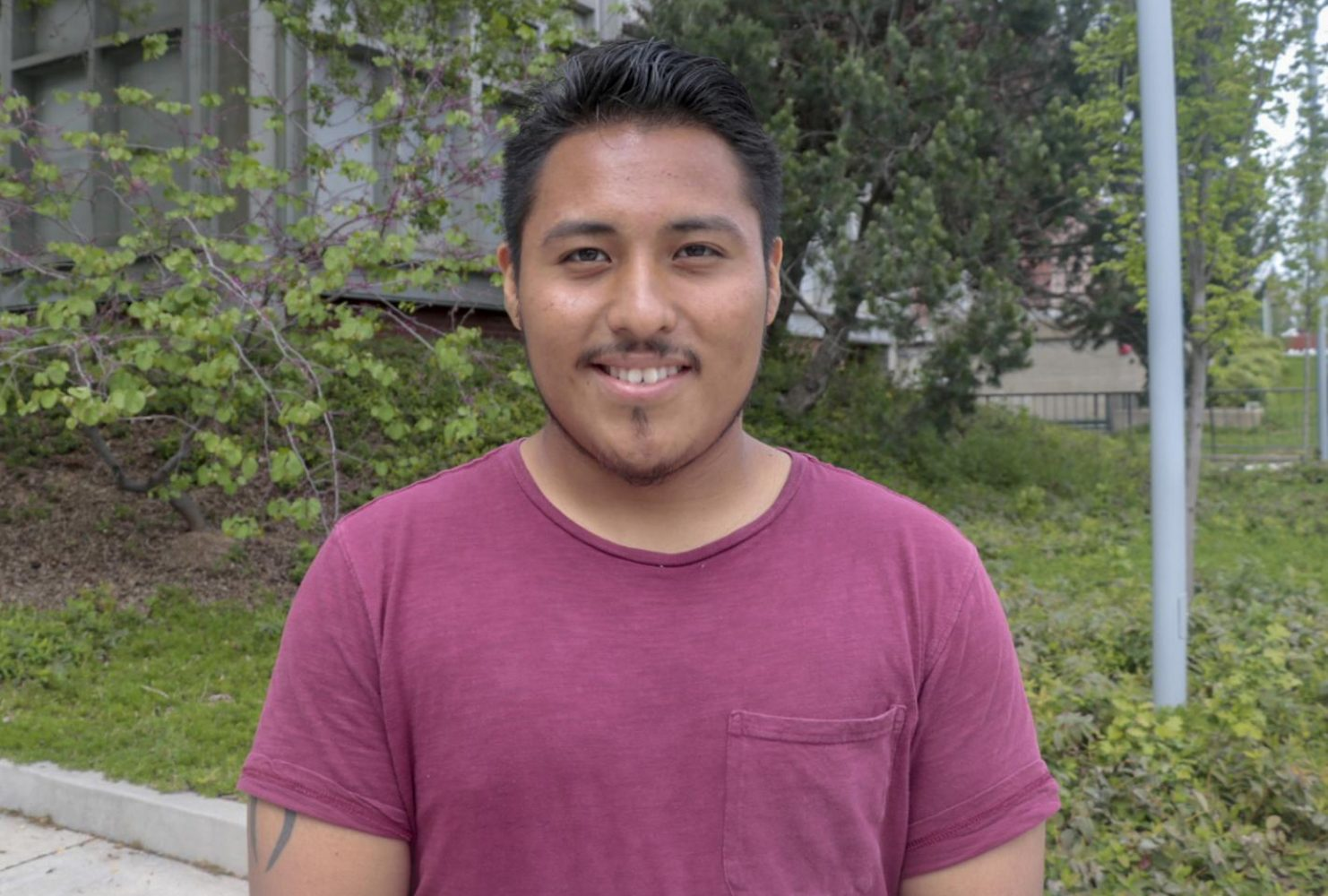 """It is student government which helps the campus and manage certain parts of the money the campus has. Yes I did vote. Actually, I [ran] for senator position too and I won."" – Ramses Galuez 