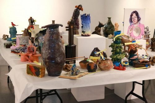 The Kaneko Gallery at American River College is currently hosting its 2020 student art show online due to the campus shutdown. Pictured here is a collection of artwork for 2019