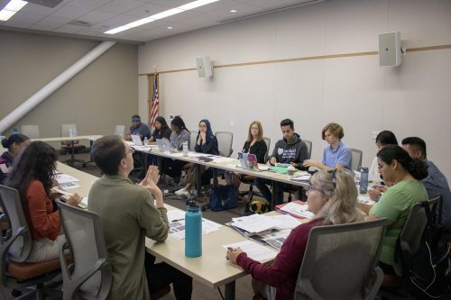 The American River College Associated Student Body Senate met on Sept. 20 to discuss and eventually pass two bills beneficial to ARC students. (Photo by Alexis Warren)