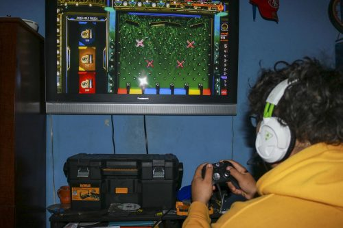 "The Entertainment Software Rating Board or ESRB have been misrating games such as ""NBA 2K20"" that has an all ages rating but have game mechanics such as simulated gambling. (Photo Illustration by Brandon Zamora)"