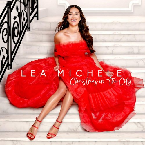 "Lea Michele releases her first holiday album ""Christmas in the City"" on Oct. 25, 2019. (Photo courtesy of Sony Music Entertainment)"