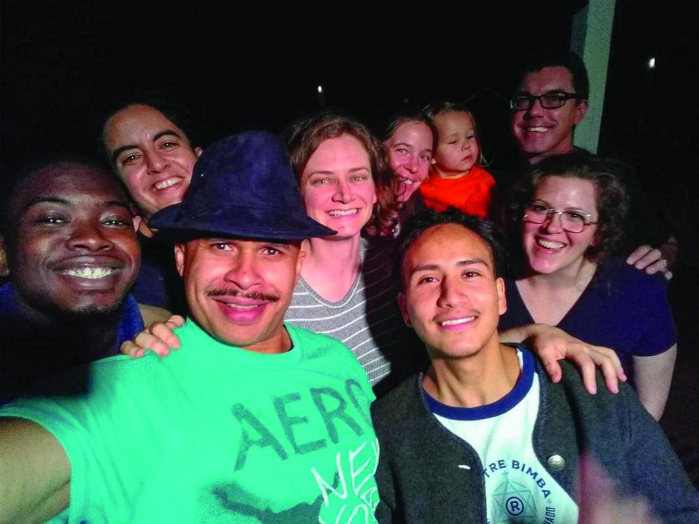 Art student Miguel Gonzalez-Miranda, pictured here front right, was released from Yuba County Jail in October, after being detained by ICE. (Photo courtesy of Miguel Gonzalez-Miranda)