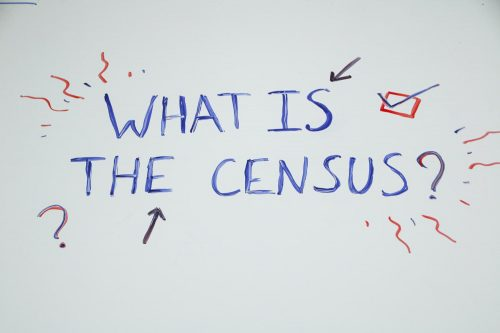 The 2020 United States Census takes place on April 1, people are encouraged to participate via online, by phone, or by mail.  (Photo Illustration by Bram Martinez)