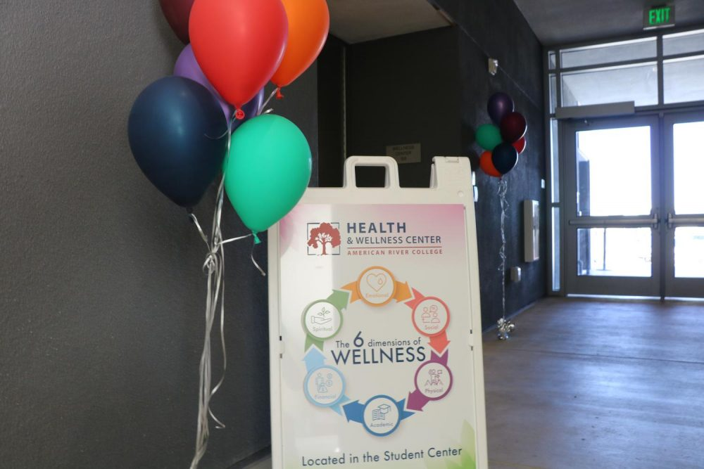 The+Health+%26+Wellness+center+at+American+River+College+has+been+relocated+to+the+Student+Center+at+ARC.+Members+from+the+Health+%26+Wellness+Center+held+a+grand+opening+on+Monday+to+celebrate.+%28Photo+by+Thomas+Cathey%29