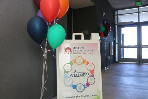 The Health & Wellness center at American River College has been relocated to the Student Center at ARC. Members from the Health & Wellness Center held a grand opening on Monday to celebrate. (Photo by Thomas Cathey)