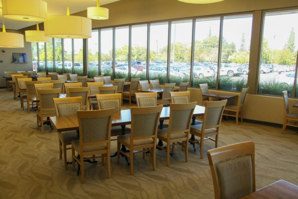The Oak Cafe is opening its doors this spring semester Wed. Feb. 12 . File Photo.