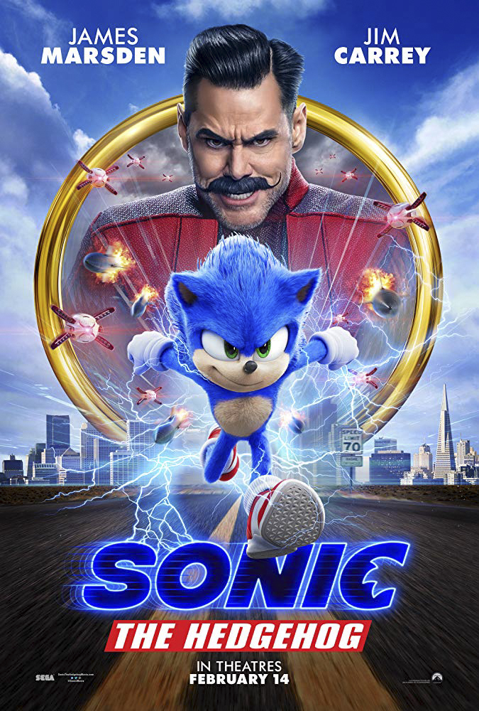 """Sonic the Hedgehog"" was released into theaters across the United States on Feb. 14, 2020. Sonic arrives on the big screen in an action packed and funny film that everyone in the family and fans of the series can enjoy. (Courtesy of Paramount Pictures)"
