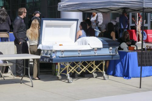 ARC's funeral services program sent both students and staff to assist with the post-death process in New York. (Photo by Heather Amberson)