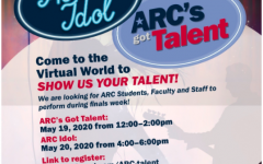 ARC Idol and ARC's Got Talent, events put on by both the Center for Leadership and Development and the Music Department to showcase student and staff talent, will be postponed until the fall 2020 or spring 2021 semesters from lack of participation. (Photo courtesy of the Center for Leadership and Development)