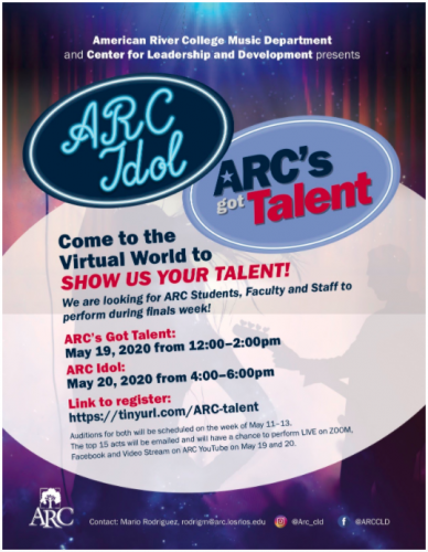 ARC virtual live talent show to be postponed
