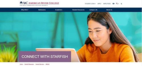 Classes at American River College are all online due to the COVID-19 pandemic; programs like Starfish and ARC