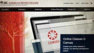 Even if you struggle with online learning, Canvas is designed to be user friendly and help you stay as organized as possible. (Photo by Edith Nunez)