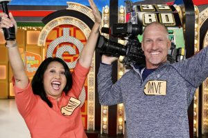 "While live on ""Good Day Sacramento,"" Tina Macuha and cameraman Dave Grashoff drove to Los Angeles, where they went behind the scenes on ""The Price is Right"" and ""Let's Make a Deal."" (Photo courtesy of Dave Grashoff)"