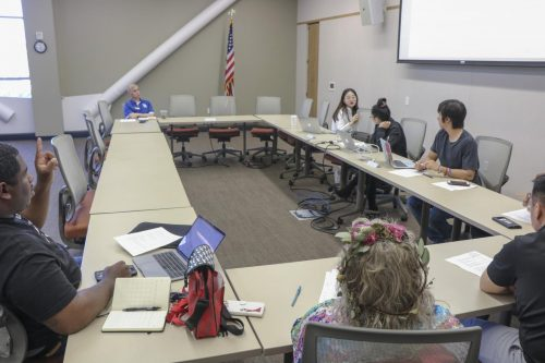 Associated Student Body made the decision to stay neutral on the upcoming ballot propositions for the 2020 election on Oct. 16, 2020. ASB now meets over Zoom do to campus closure because of the COVID-19 pandemic.(File photo)