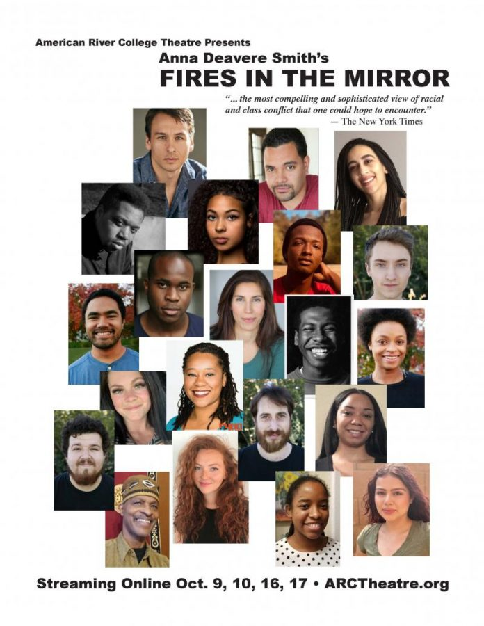 """With the ongoing Black Lives Matter protests, there is possibly no play more fitting or necessary for 2020 than """"Fires in the Mirror"""". Though the show ended on Oct. 18, ARC Theatre is hoping to stream the show again later this year. (Photo courtesy of ARC Theatre)"""