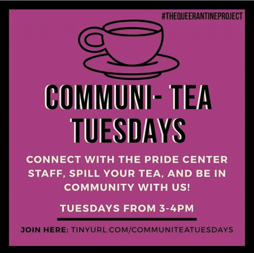 Pride Center invites LGBTQ+ students to spill their tea