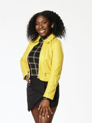 Larriah Jackson has performed in over 300 shows to date and has opened for well known gospel artist Yolanda Adams and singer-songwriter Lyfe Jennings. (Photo courtesy of Warner Brother Studios)