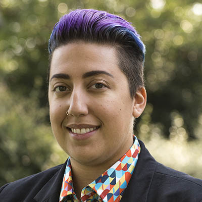 Pride Center Program Specialist Alejandra Fernandez-Garcia has made sure that the center has remained operating during distance learning for students to build community and receive resources. (Photo courtesy of American River College)